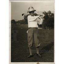 1930 Press Photo Golfer Patrick E. Crowley on the course - net01365