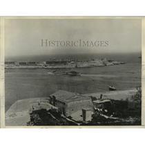 1935 Press Photo Harbor of the Island of Malta - mjz01749