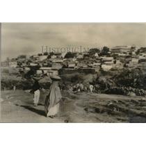 1935 Press Photo Harrar, ancient walled capital of Ethiopian province of Ogaden