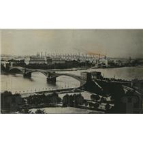 1918 Press Photo Coblenz City, Germany - ney21981
