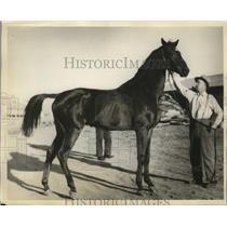1934 Press Photo Craig Park, British challenger for 134 Agua Caliente Handicap
