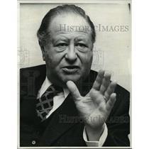 1990 Press Photo Austrian Chancellor Bruno Kreisky Suffers Heart Failure at 79