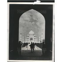 1976 Press Photo Taj Mahal
