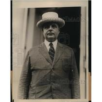 1924 Press Photo Dr Jason Noble Pierce, Rector of the 1st Congressional Church