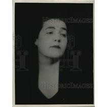 1929 Press Photo Fannie Hurst - mja34184