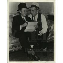 1931 Press Photo Film and Stage Actor Al Jolson - mja34600