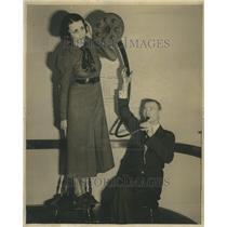 1935 Press Photo Olaf Mitchell Paulsen Orchestra