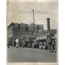 1945 Press Photo Sixth Service Command Weapon Transport