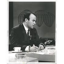 1961 Press Photo Sander Vanocur Journalist Reporter