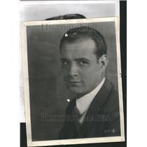 1951 Press Photo Carol Varga Hungarian Actor