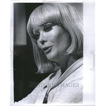 1974 Press Photo Monique Van Vooren Actress
