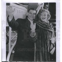1955 Press Photo Jack Webb Actor Television