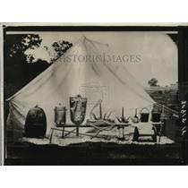 1931 Press Photo Accessories for Transatlantic Balloon Project, Smithsonian