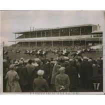 1930 Press Photo Finish of the Cambridgeshire horse race in United Kingdom