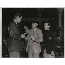1937 Press Photo Golfer Horton Smith wins North and South Tournament, Pinehurst