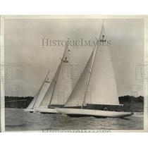 1936 Press Photo Olympic Games sailing tryouts to be held during regatta in CA
