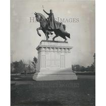 1910 Press Photo Statue of St.Louis - RRR53605