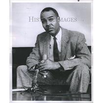 1957 Press Photo Exec. Director of NAACP Roy Wilkins - RRR54367