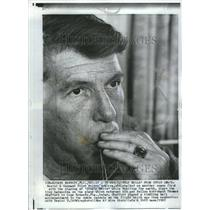 1965 Press Photo Walter Schirra Officer Navy Mercury