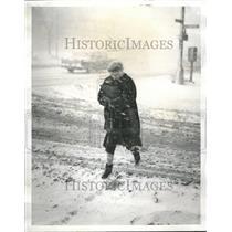 1960 Press Photo Weather