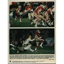1990 Press Photo NFL Super Bowl champion San Francisco 49ers - spa33545