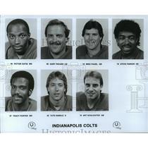 1989 Press Photo Football Pro Indianapolis Colts - spa33821