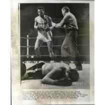 1956 Press Photo Tommy Williams, former heavyweight champion of British Empire.