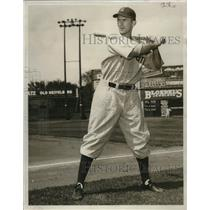1938 Press Photo Walter Judwich- Kansas City outfielder. - mjs03633
