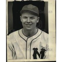1935 Press Photo Wayne La Master traded to Louisville Colonels - mjs03664