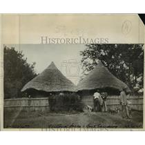 1927 Press Photo Boat landing at Victoria Falls, Zimbabwe - mjx14305