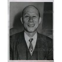 1960 Press Photo Lei Chen, magazine publisher, of South Korea. - mjx14443