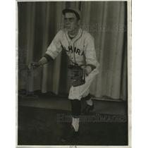 1930 Press Photo Evert Alchon of Admiral Baseball Club - cvb77414