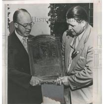 1951 Press Photo Jimmy Foxx, entered into baseball's hall of fame. - mjs03942