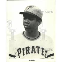 1973 Press Photo Pirates pitcher  Dock Ellis seldom loses to the Cubs.