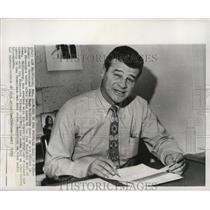 1970 Press Photo Former San Francisco 49er Hugh McElhenny named to Hall of Fame.