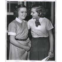 1953 Press Photo Spelling Bee