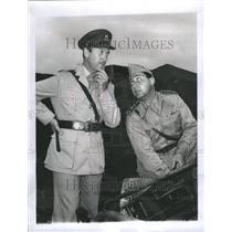 1961 Press Photo Alberto Sordi Actor Italiy David Niven - RRR60097