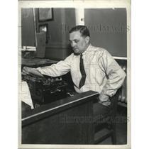 1936 Press Photo Billy Evans - cvb77646