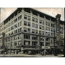 1925 Press Photo Wisconsin Theater Building, Sixth & State Sts. - mjx15862