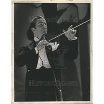 1934 Press Photo Jan Rubini Composer