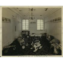1924 Press Photo Wisconsin Theater kiddie play room - mjx15865