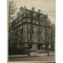 1927 Press Photo Canadian Embassy in Washington D.C. purchased for $500,000