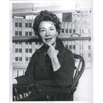 "1958 Press Photo Dolores ""Dody"" Goodman - RRR65199"