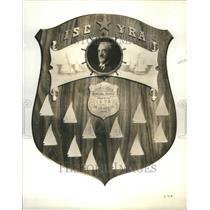 1934 Press Photo John C. Goss memorial trophy