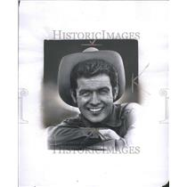 1959 Press Photo Mark Goddard in cowboy attire