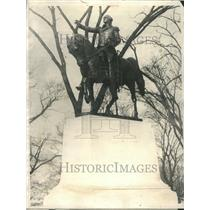 1923 Press Photo New York George Washington statue - RRR66947