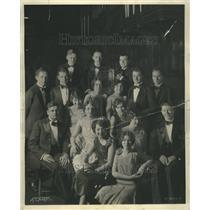 1930 Press Photo Northwestern University Choral Group