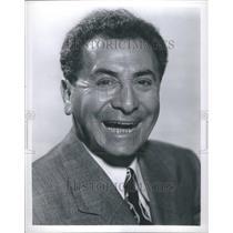 1953 Press Photo Jack Pearl Vaudeville Star Radio