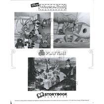 1994 Press Photo Disney Winnie the -Pooh Picture Books