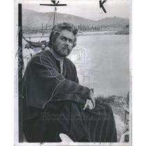 1960 Press Photo Harold Clifford Keel Actor Singer - RRR69601